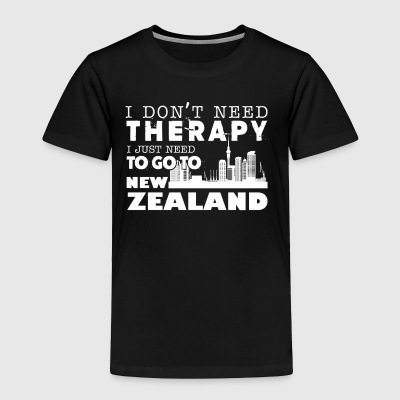 New Zealand Therapy Shirt - Toddler Premium T-Shirt