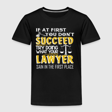 Lawyer T shirt - Toddler Premium T-Shirt