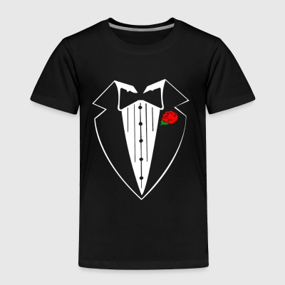 Rose Tuxedo - Toddler Premium T-Shirt
