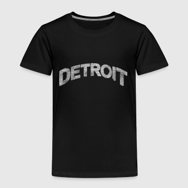 Distressed Detroit Arch - Toddler Premium T-Shirt
