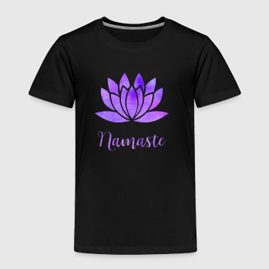 Namaste Lotus - Toddler Premium T-Shirt