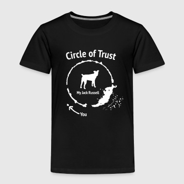 Funny Jack Russel shirt - Circle of Trust - Toddler Premium T-Shirt