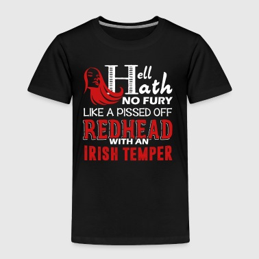 Pissed Off Redhead Shirt - Toddler Premium T-Shirt