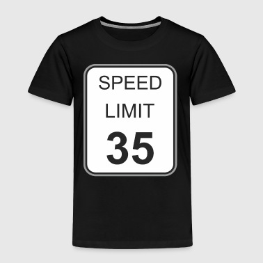 Road_sign_speed_limit_35 - Toddler Premium T-Shirt