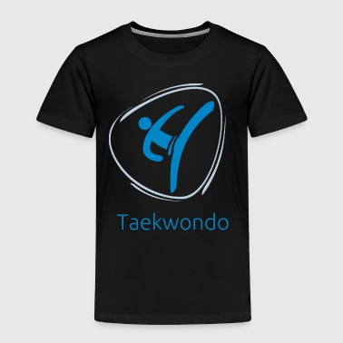 Taekwondo_blue - Toddler Premium T-Shirt