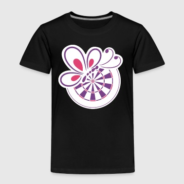 Bed and Butterfly - Toddler Premium T-Shirt