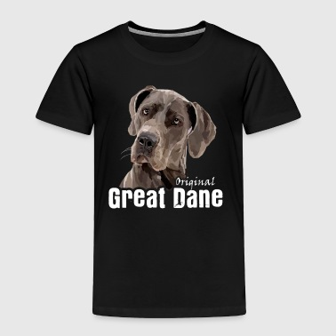 Great Dane Tee Shirt - Toddler Premium T-Shirt