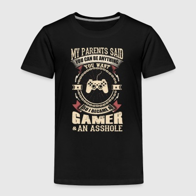 I Became A Gamer - Toddler Premium T-Shirt