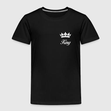 King with a Crown - Toddler Premium T-Shirt