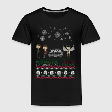 WISHING YOU A VERY SUPERNATURAL CHRISTMAS - Toddler Premium T-Shirt