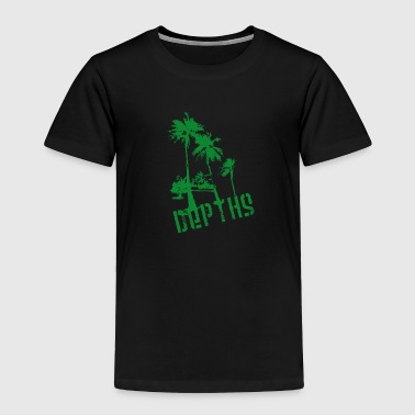 DEPTHS Palm trees - Toddler Premium T-Shirt