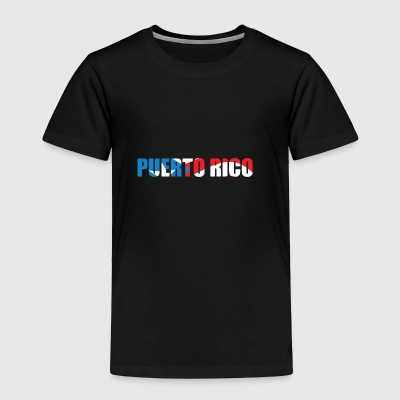 country Puerto Rico - Toddler Premium T-Shirt