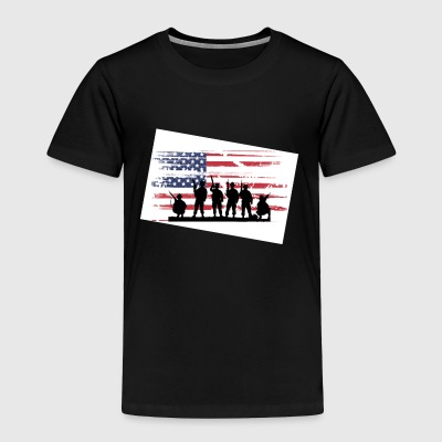 military - Toddler Premium T-Shirt