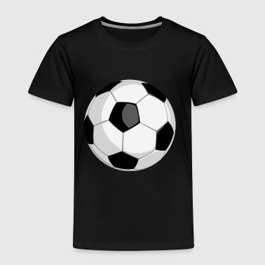 football soccer ball vector - Toddler Premium T-Shirt