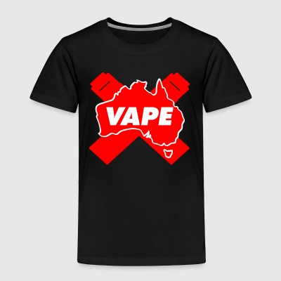 VAPE Red AU - Toddler Premium T-Shirt