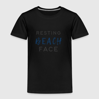 Resting Beach Face - Toddler Premium T-Shirt