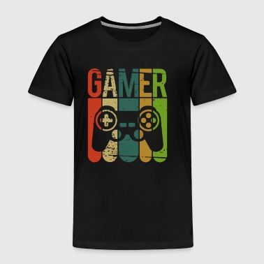 Gamer Game Controller - Toddler Premium T-Shirt