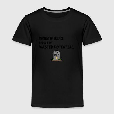 Moment of silence - Toddler Premium T-Shirt