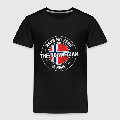 Have No Fear The Norwegian Is Here Shirt - Toddler Premium T-Shirt