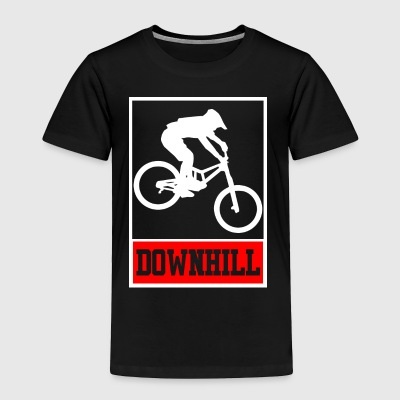 Downhill - Freerider - Toddler Premium T-Shirt