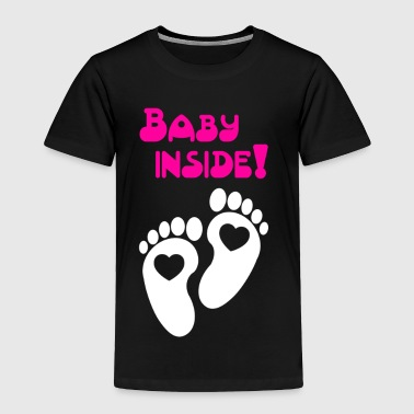 Baby inside Pregnancy - Toddler Premium T-Shirt