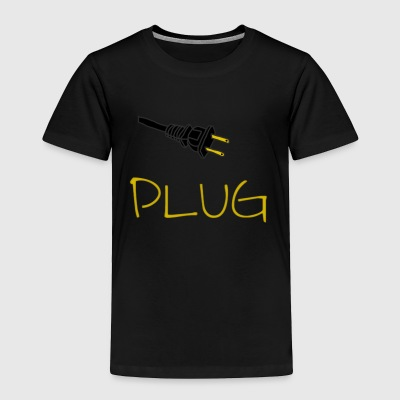 Plug Long Sleeve - Toddler Premium T-Shirt