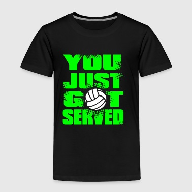 SERVED Volley Ball - Toddler Premium T-Shirt