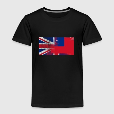 British Samoan Half Samoa Half UK Flag - Toddler Premium T-Shirt