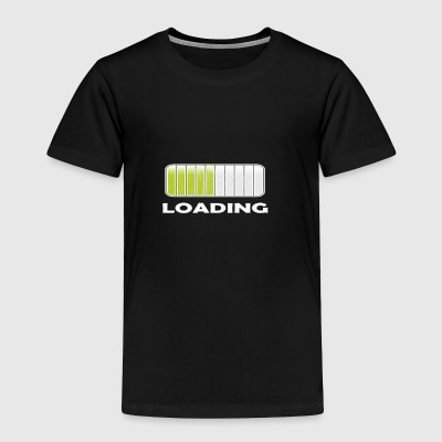 LOADING NERDY NERD T SHIRT GIFT - Toddler Premium T-Shirt