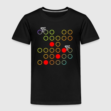 Retro cycling - Toddler Premium T-Shirt
