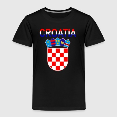 Croatia Coat Of Arms - Toddler Premium T-Shirt