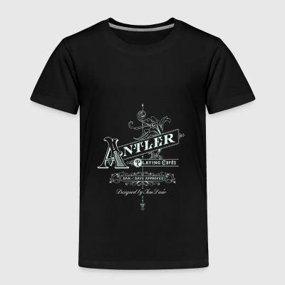 Antler playing cards - Toddler Premium T-Shirt