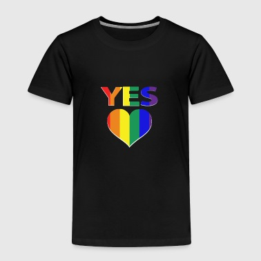 yes vote in marriage equality - Toddler Premium T-Shirt