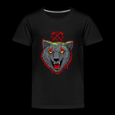Bloody Wolf - Toddler Premium T-Shirt