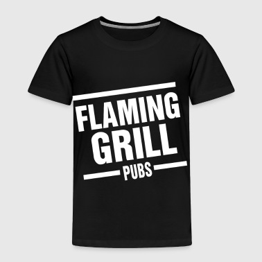 Flaming Grill - Toddler Premium T-Shirt