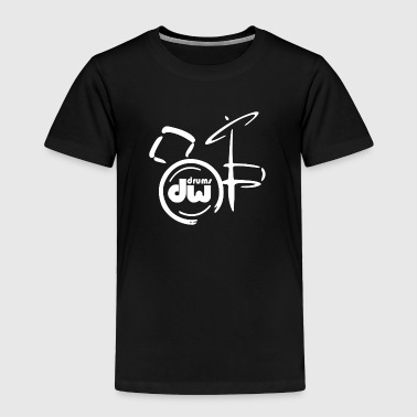 DW Drum music instrumen - Toddler Premium T-Shirt