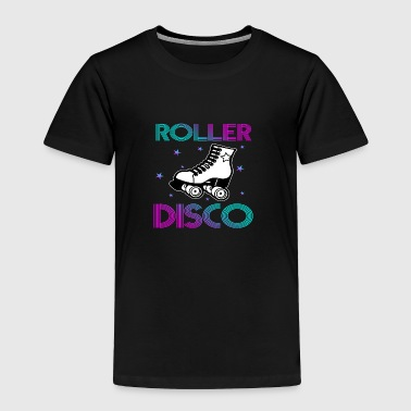 Cool Vintage Roller Disco Retro 70s and 80s party - Toddler Premium T-Shirt