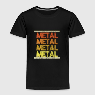 Metal Music Shirt - Gift - Toddler Premium T-Shirt