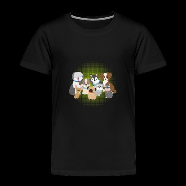 Cute Dogs Shirt Dog Lover Gift - Toddler Premium T-Shirt