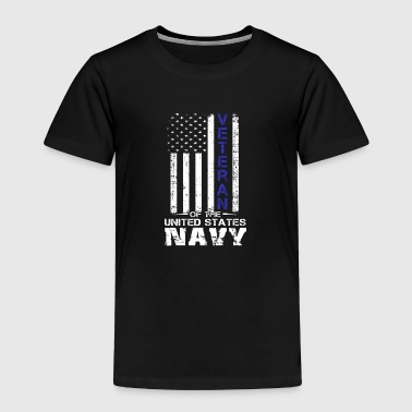 US American Flag U S Navy Veterans T Shirt - Toddler Premium T-Shirt