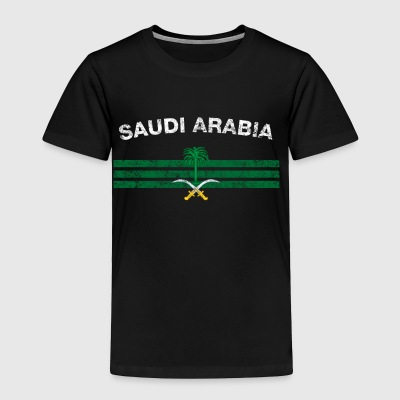 Saudi or Saudi Arabian Flag Shirt - Saudi or Saudi - Toddler Premium T-Shirt