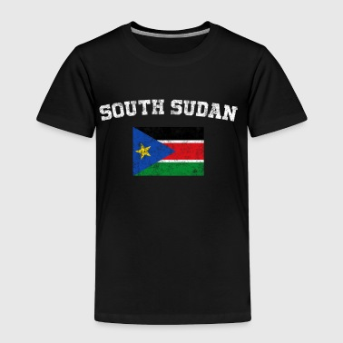 South Sudan Flag Shirt - Vintage South Sudan T-Shi - Toddler Premium T-Shirt