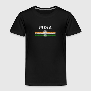 Indian Flag Shirt - Indian Emblem & India Flag Shi - Toddler Premium T-Shirt