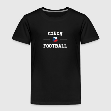Czech Republic Football Shirt - Czech Republic Soc - Toddler Premium T-Shirt