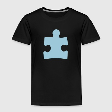 Autism Puzzle Piece - Toddler Premium T-Shirt