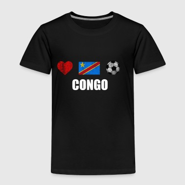 Congo Football Shirt - Congo Soccer Jersey - Toddler Premium T-Shirt