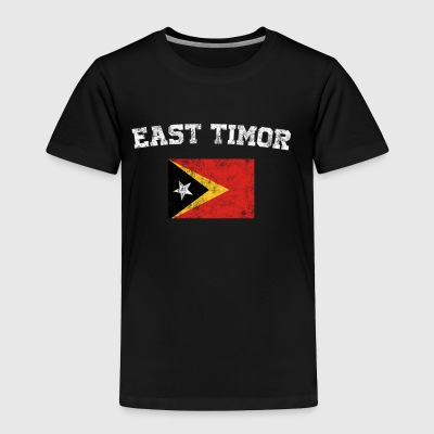 East Timorese Flag Shirt - Vintage East Timor T-Sh - Toddler Premium T-Shirt