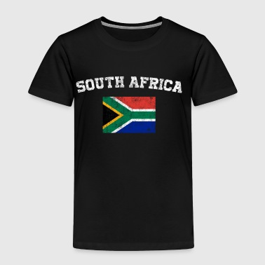South African Flag Shirt - Vintage South Africa - Toddler Premium T-Shirt