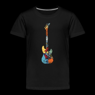 Electric Guitar Pattern - Toddler Premium T-Shirt