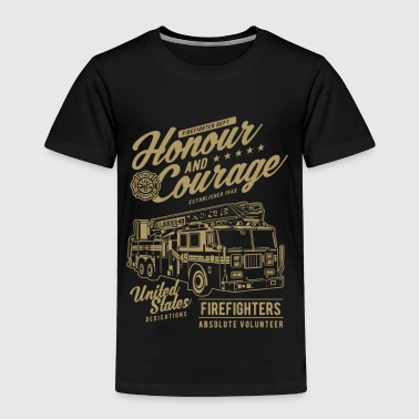 HONOUR AND COURAGE - Toddler Premium T-Shirt